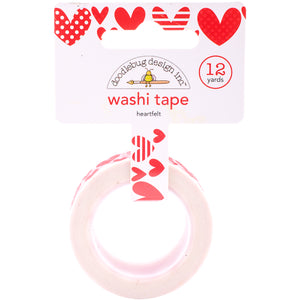 Red Heart Washi Tape | www.bakerspartyshop.com