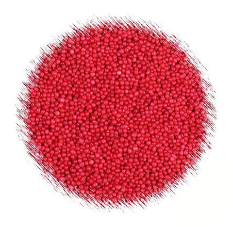 Red Nonpareil Sprinkles | www.bakerspartyshop.com
