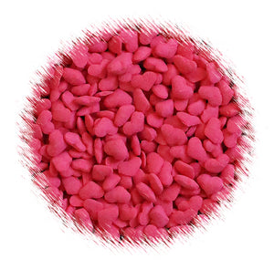 Puffy Red Heart Sprinkles | www.bakerspartyshop.com
