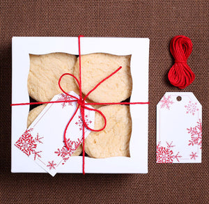 Small Christmas Bakery Box Kit | www.bakerspartyshop.com