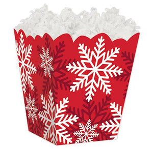 Snowflake Favor Boxes | www.bakerspartyshop.com
