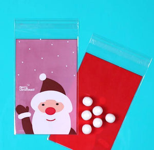 Santa Candy Bags: Red | www.bakerspartyshop.com