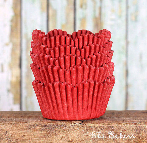 Red Petal Cupcake Liners | www.bakerspartyshop.com