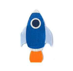 Space Rocket Napkins | www.bakerspartyshop.com