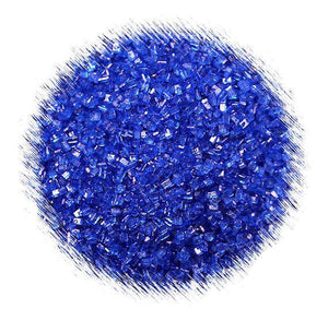 Royal Blue Sparkling Sugar | www.bakerspartyshop.com