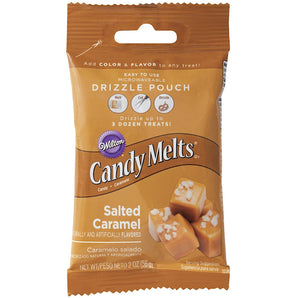 Mini Salted Caramel Candy Melts | www.bakerspartyshop.com