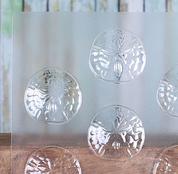 Sand Dollar Chocolate Mold | www.bakerspartyshop.com