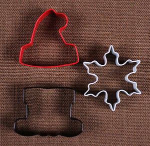 Santa Christmas Cookie Cutter Set | www.bakerspartyshop.com