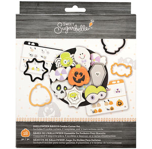 Sweet Sugarbelle Halloween Cookie Cutter Kit | www.bakerspartyshop.com