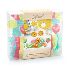 Sweet Sugarbelle Shape Shifters Cookie Cutter and Stamp Set | www.bakerspartyshop.com