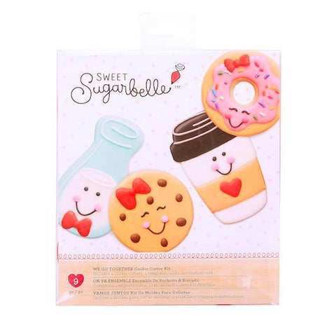 Sweet Sugarbelle Cookie Cutter Set: We Go Together | www.bakerspartyshop.com