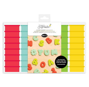 Sweet Sugarbelle Mini Alphabet Cookie Cutters Set: PRE-ORDER | www.bakerspartyshop.com