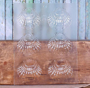 Scallop Shell Chocolate Mold: Large | www.bakerspartyshop.com