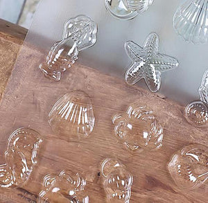 Sea Creatures Chocolate Mold | www.bakerspartyshop.com