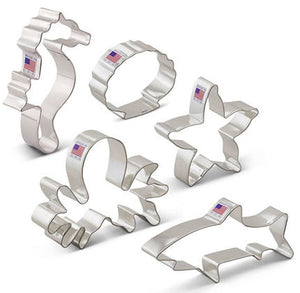 Sea Creatures Cookie Cutters Set | www.bakerspartyshop.com