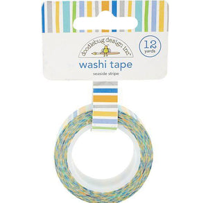 Seaside Stripe Washi Tape | www.bakerspartyshop.com