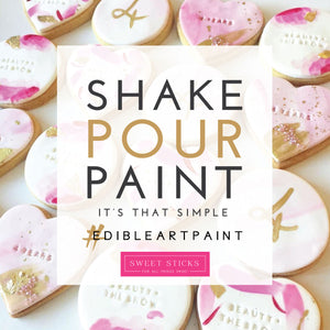 Pastel Edible Art Paint Set | www.bakerspartyshop.com