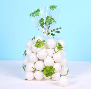 Shamrock Cellophane Bag Kit | www.bakerspartyshop.com