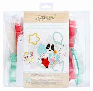 Sweet Sugarbelle Cookie Cutter Set: Shape Shifter 2 | www.bakerspartyshop.com