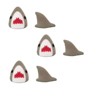 Shark Sugar Toppers | www.bakerspartyshop.com
