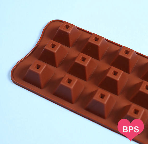 Small Pyramid Candy Mold Silicone Candy Mold The Bakers