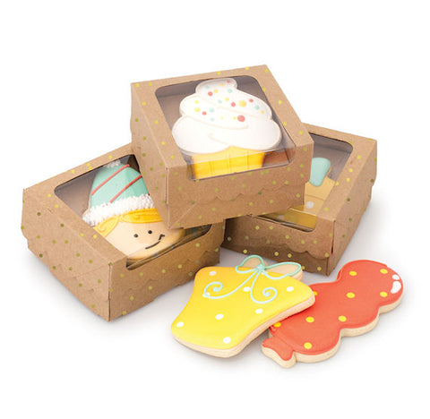 Sweet Sugarbelle Cookie Boxes: Kraft Single | www.bakerspartyshop.com
