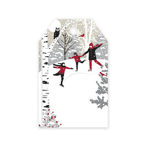 Christmas Gift Tags: Winter Snowday | www.bakerspartyshop.com