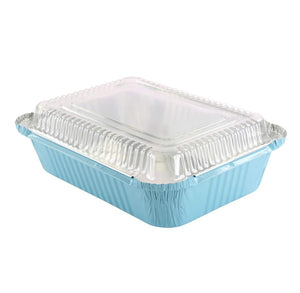 Cake + Cookie Tins with Lids: Sky Blue | www.bakerspartyshop.com