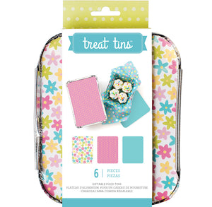 Small Spring Treat Tins | www.bakerspartyshop.com