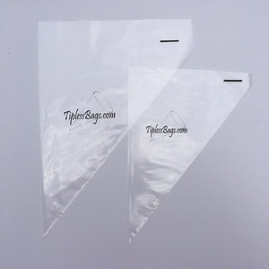 Tipless Piping Bags: Smooth | www.bakerspartyshop.com
