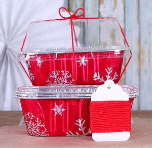 Christmas Bread Loaf Pan Kit | www.bakerspartyshop.com