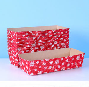 Christmas Loaf Pans: Snowflake | www.bakerspartyshop.com