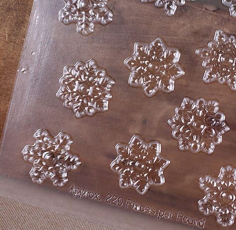 Snowflake Chocolate Mold | www.bakerspartyshop.com