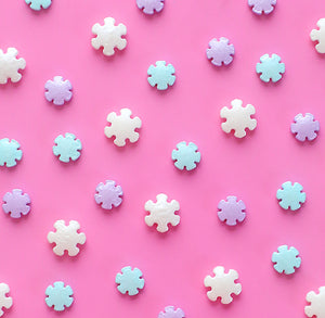 Snowflake Candy Sprinkles | www.bakerspartyshop.com