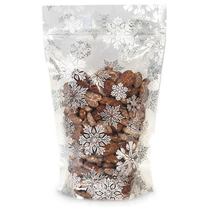 Snowflake Stand Up Bags | www.bakerspartyshop.com