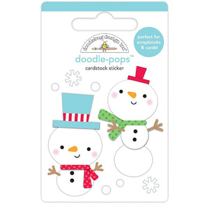 Snowman Stickers: Snow Fun | www.bakerspartyshop.com