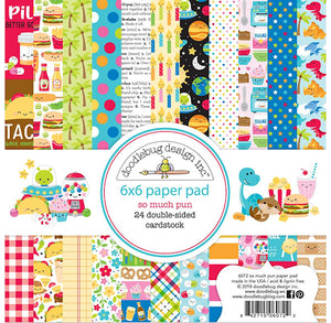 So Much Pun Paper Pad: Celebration | www.bakerspartyshop.com