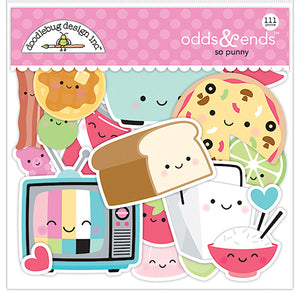 So Punny Foodie Die Cuts | www.bakerspartyshop.com