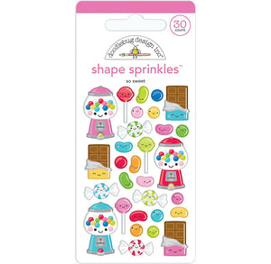 Glossy So Sweet Stickers | www.bakerspartyshop.com