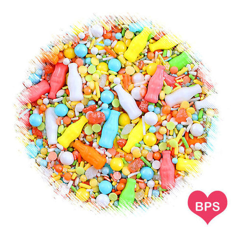 Sprinklefetti Soda Pop Sprinkle Mix | www.bakerspartyshop.com