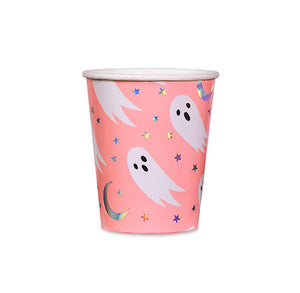 Halloween Cups: Spooked Ghost | www.bakerspartyshop.com