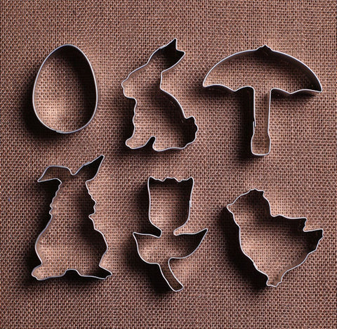 Happy Easter Cookie Cutter Set | www.bakerspartyshop.com