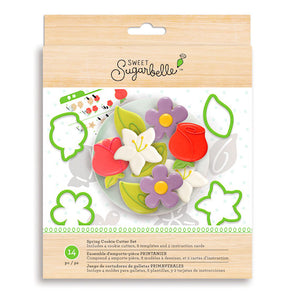 Sweet Sugarbelle Spring Cookie Cutter Kit | www.bakerspartyshop.com