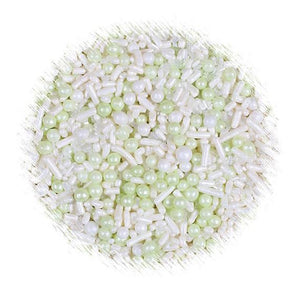 Sprinklefetti Light Green Sprinkle Mix | www.bakerspartyshop.com