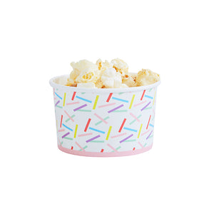 Sprinkles Ice Cream Cups | www.bakerspartyshop.com