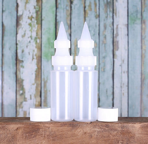 Mini Decorating Squeeze Bottles: Set of 2 | www.bakerspartyshop.com