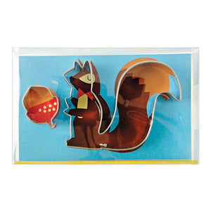 Cute Squirrel Cookie Cutter Set | www.bakerspartyshop.com