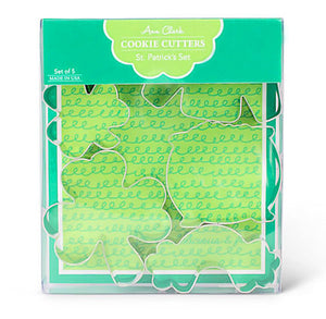 St. Patrick's Day Cookie Cutters Set | www.bakerspartyshop.com