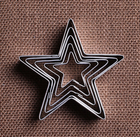Star Cookie Cutters Set | www.bakerspartyshop.com