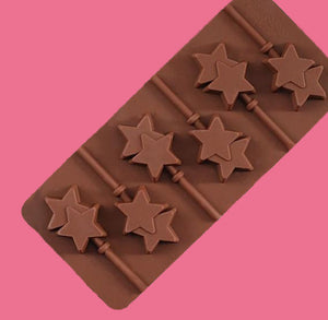 Silicone Star Lollipop Mold | www.bakerspartyshop.com